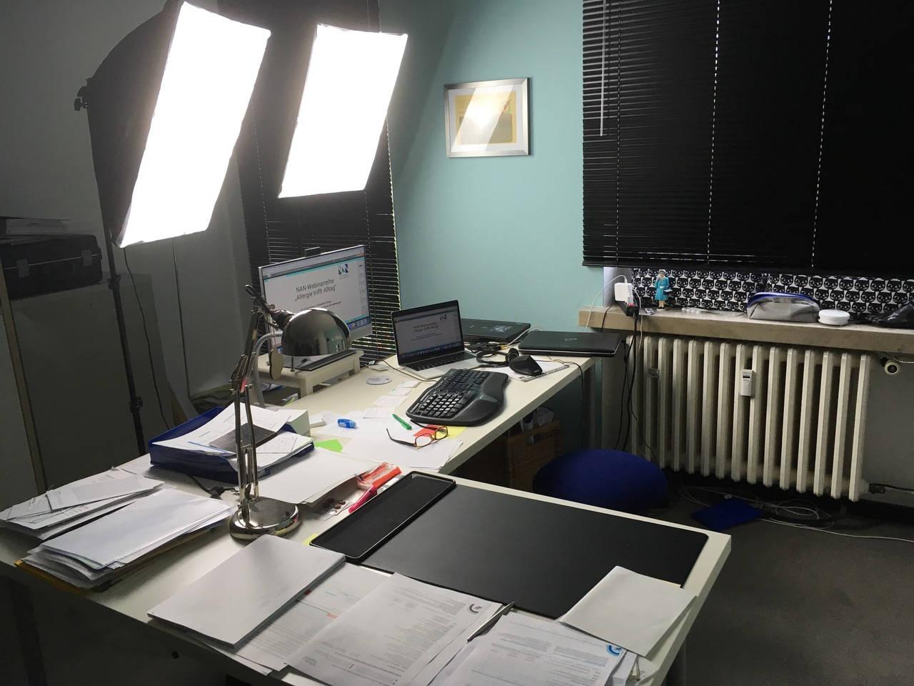 Schreibtisch Webinare Kristina Schmidt