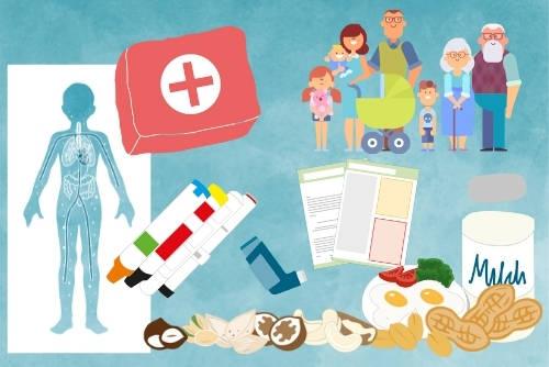 Anaphylaxie-Schulungen für Eltern und Familien