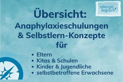 Anaphylaxie-Schulungen online
